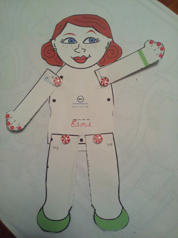 Playing with Paper Dolls and Cake Patterns