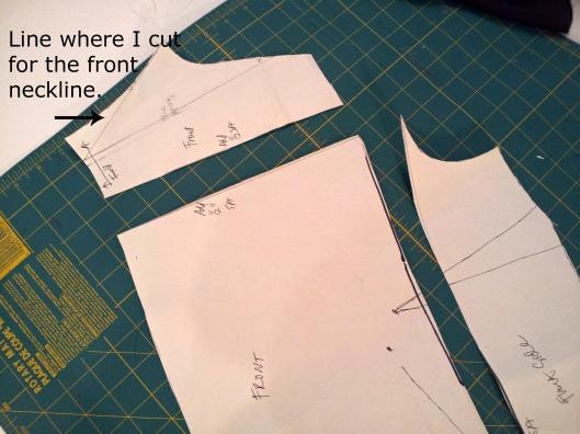 cut front skant pattern