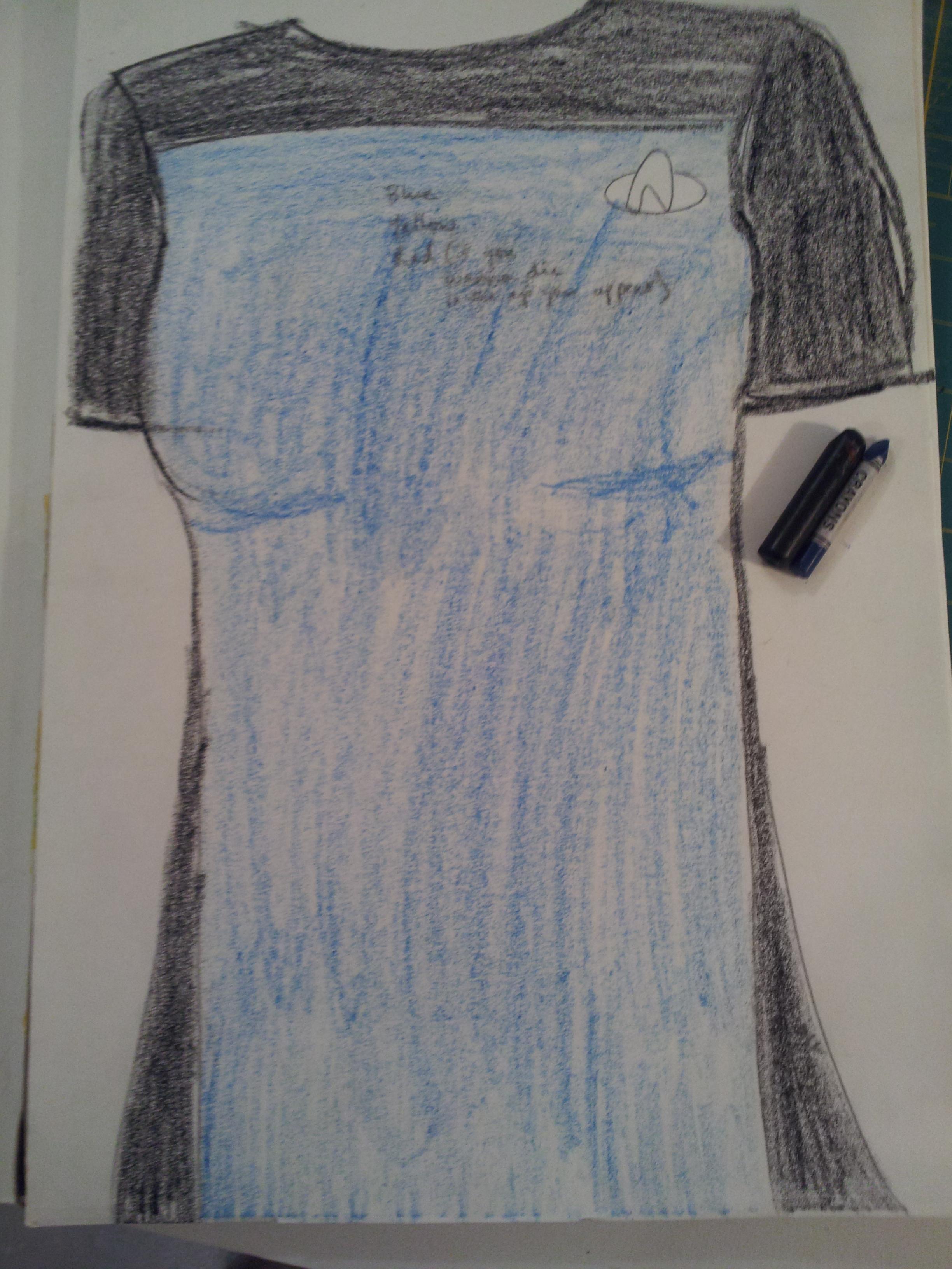 Star Trek: TNG Skant Tutorial – Three Dresses / LMB