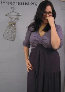 maxi dress refashion Leila