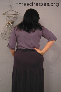 refashion maxi dress back leila