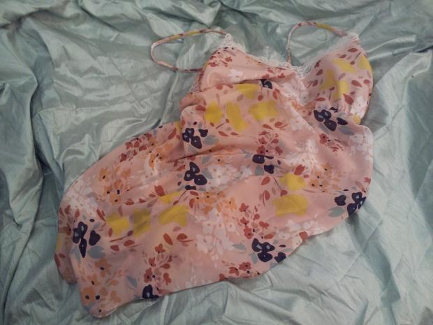 chiffon nightgown