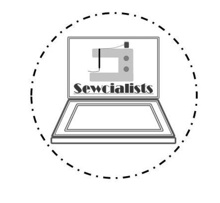 sewcialist logo final B&W