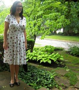 cherry Tiramisu front steps