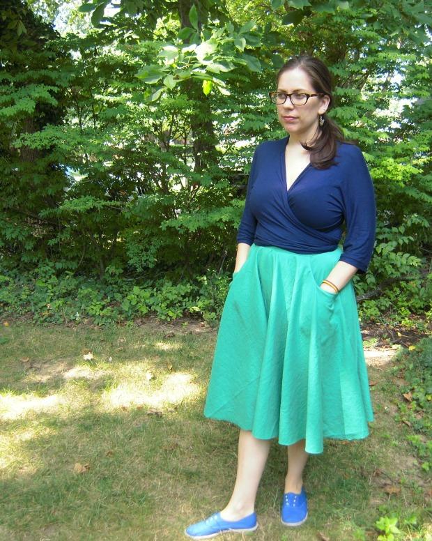 Double gauze Pavlova skirt
