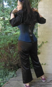 LM corset back with jacket