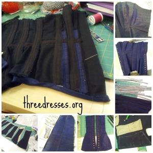 LM Silverado corset construction
