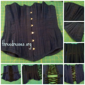 LM Silverado corset finished
