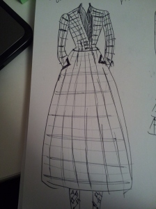Vicky Plaid sketch