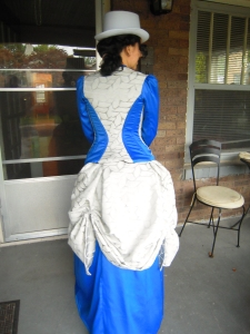 Victorian Costume for the Queen back