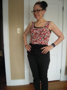 Ralph Pink bodice fit test front