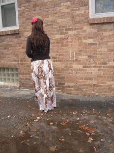 jungle skirt back hair