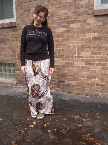 jungle skirt front